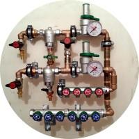 Квартирные узлы ввода воды