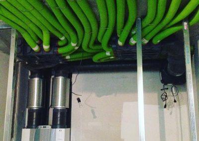 Система приточно-вытяжной вентиляции с рекуперацией в квартире 220м2